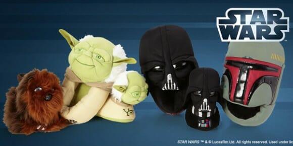 Pantufas do Star Wars são a cara dos personagens!