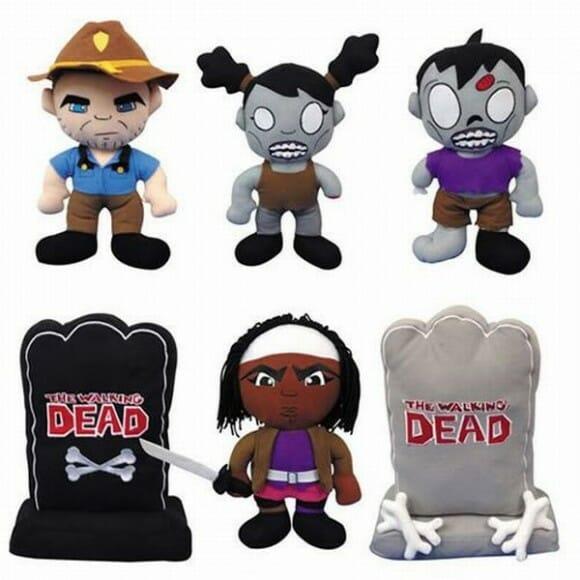 Pelúcias Walking Dead para fãs da série