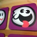 Porta-copos do fantasma Boo do Super Mario