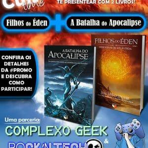 """Promoção """"A Batalha do Apocalipse"""" - Rock'n Tech e Complexo Geek vão sortear 2 livros! Participe!"""