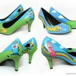 ~ As mina pira ~ nos sapatos Adventure Time!