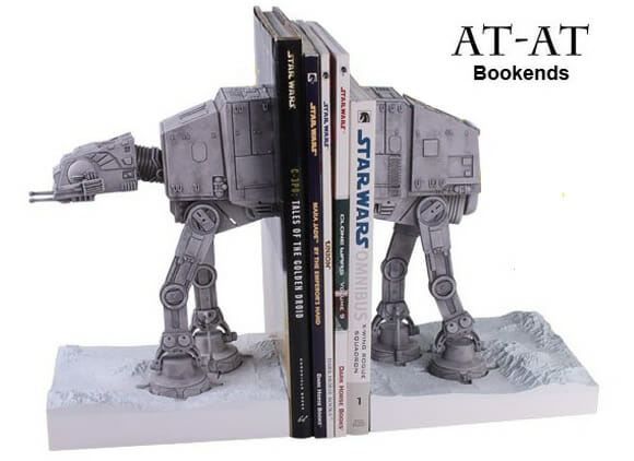 Desejo nerd do dia: Porta-livros AT-AT Star Wars