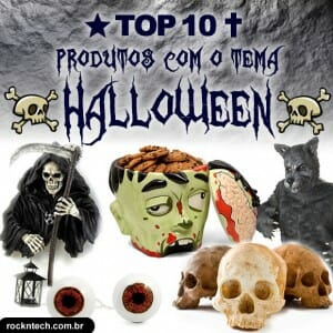Top 10 produtos aterrorizantes super legais para equipar sua festa de Halloween