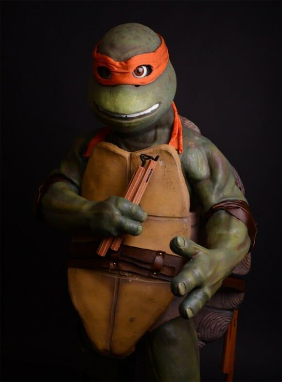 COWABUNGA! Traje do Michelangelo é o mais épico de todos os tempos!
