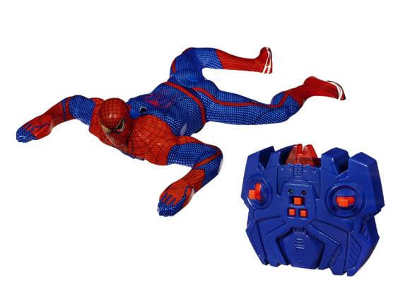 Boneco do Homem Aranha de controle remoto escala paredes de verdade!