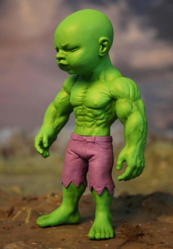 Isso 233 Estranho Mas Legal Do Dia Est 225 Tua Do Beb 234 Hulk