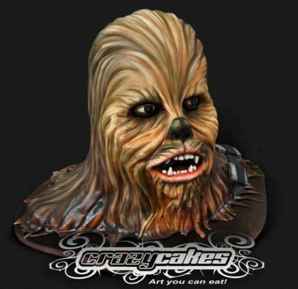 Bolo do Chewbacca de Star Wars só falta falar!