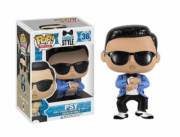 Bonecos Oppan Gangnam Style do cantor Psy!