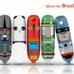 Designers inventam escova de dentes eletrônica que incentiva crianças a escovarem os dentes