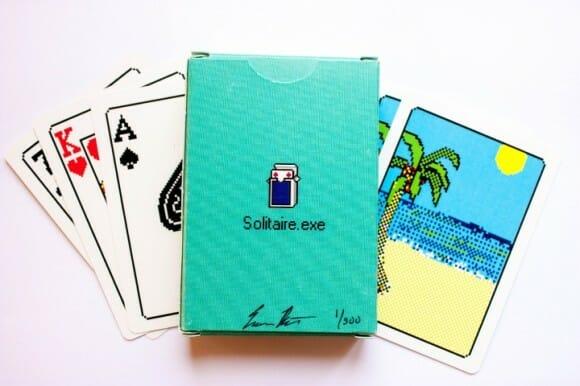 Versão real do game Solitaire do Windows tem cartas de baralho 8-bits!