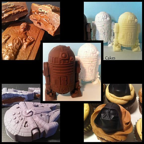 Chocolates Star Wars são de dar água na boca