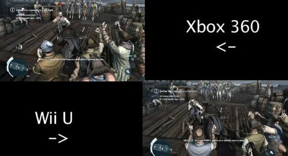 Gráficos - Quem vence? Xbox 360 ou Wii U? Vídeo compara os gráficos deles em tempo real