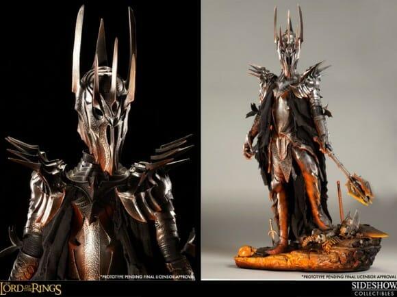 Estátua incrível de Sauron de O Senhor dos Anéis é caríssima, mas é impecável!