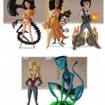 Isso é legal do dia: Caricaturas revelam a evolução das celebridades no Cinema