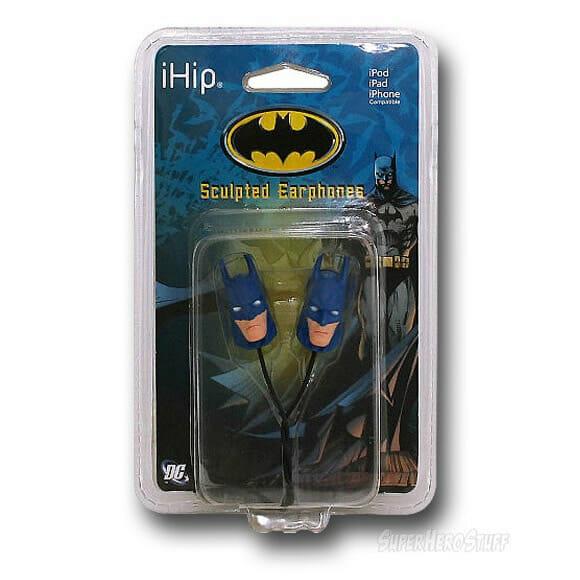 Santo fone de ouvido Batman!