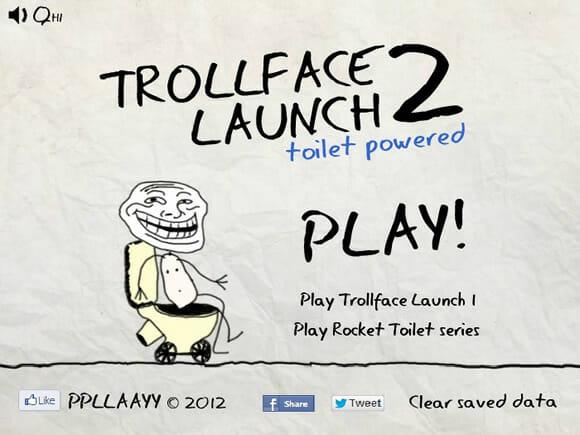 GAMEFUN - Trollface Launch 2