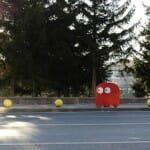Pac-Man e seus fantasmas invadem Cinnah Caddesi na Turquia