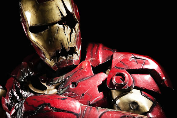 Iron Man Zumbi - Fujam para as montanhas!