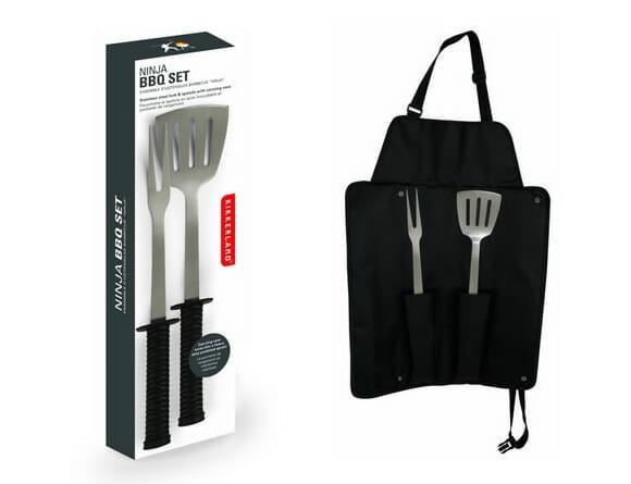 Kit Ninja de utensílios de churrasco para churrasqueiros convencidos. Iááááá!