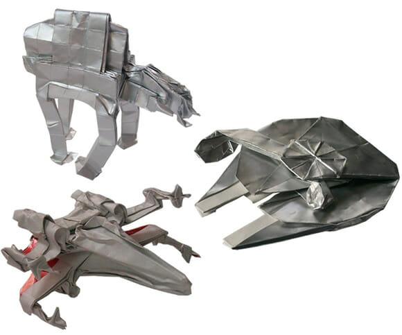 Starwarigami - Origamis incríveis das naves, veículos e personagens de Star Wars