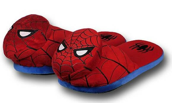 Pantufas do Homem-Aranha e Justiceiro