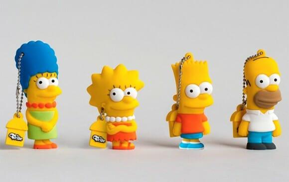 Pen drives dos Simpsons - Você vai querer ter um!