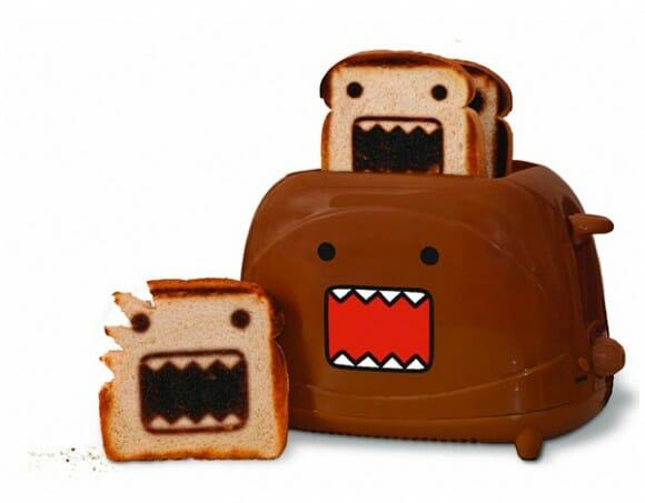 Torradeira Domo-Kun faz o café da manhã monstruosamente mais divertido