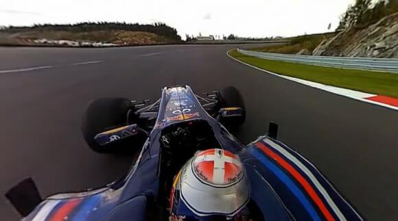 Vídeo de F1 em 360º ESPETACULAR da Red Bull vai fazer seu cérebro fritar! Assista!