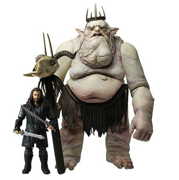 Desejo Nerd do dia - Kit Deluxe com 2 action figures do filme O Hobbit: Gandaf e o orc Bolg