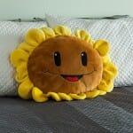 Decoração geek - Almofada Sunflower do Plants vs. Zombies