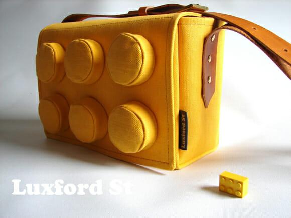 Isso é legal do dia: Bolsa imita um bloco de Lego