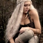 Cosplay da personagem Daenerys Targaryen de Game Of Thrones