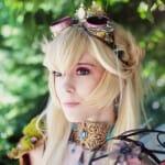 Cosplay Princesa Peach Steampunk