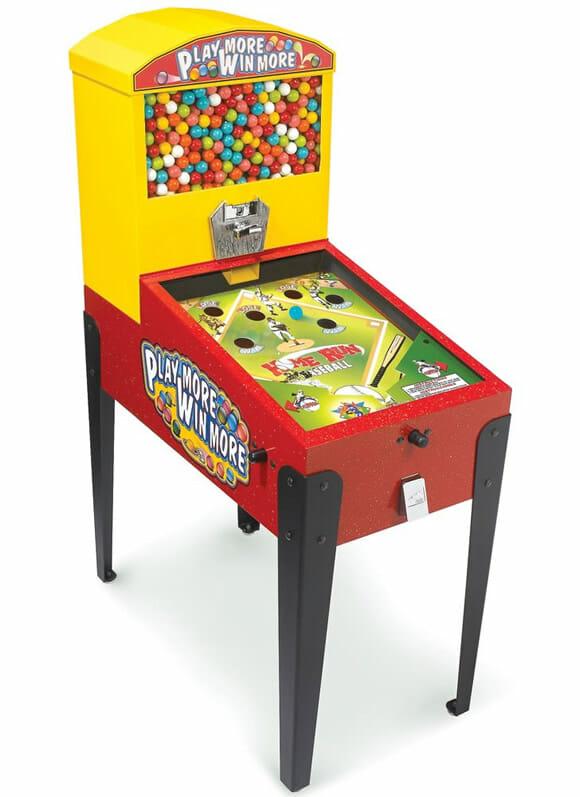 Isso é legal do dia: Máquina de Pinball dá chicletes quando o jogador vence a partida