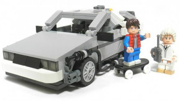 LEGO lançará em breve conjunto oficial baseado no filme De Volta para o Futuro