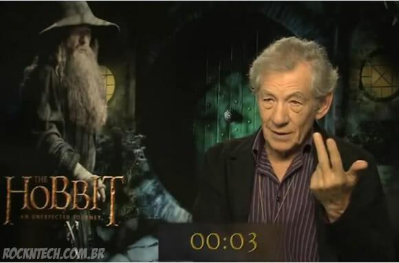 Desafio: O quão rápido consegue pronunciar o nome de todos os anões do filme O Hobbit?