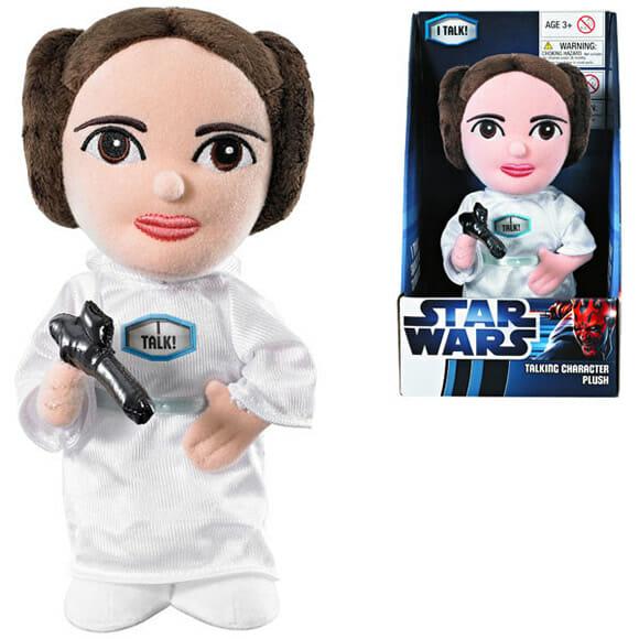 Vem aí a Princesa Leia de pelúcia que emite famosa frase de Star Wars