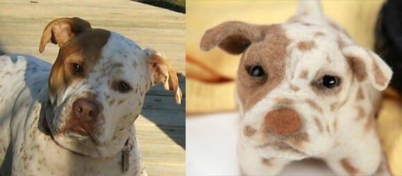 Agora é possível ter pelúcias personalizadas idênticas a seu cão de estimação