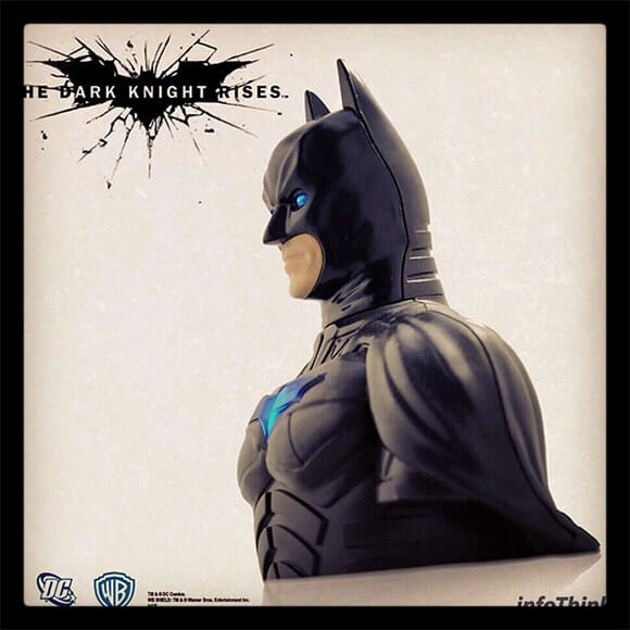Isso é legal do dia: Pen drive busto do Batman baseado no filme The Dark Knight Rises