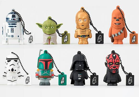USB Tribe lança nova coleção de Pen drives da série Star Wars