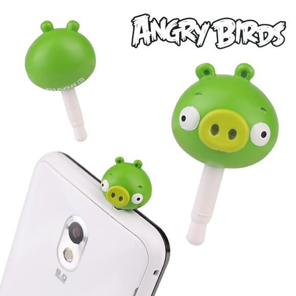 Plugs do Angry Birds para decorar celulares e smartphones