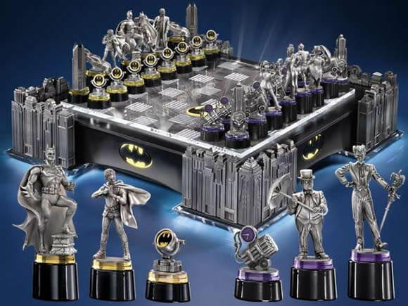 Set de Xadrez do Batman é incrível, mas custa mais de R$ 1600