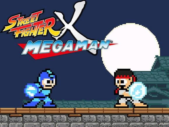 Jogo Street Fighter X Mega Man criado por fãs será lançado pela Capcom dia 17 de Dezembro (vídeo)