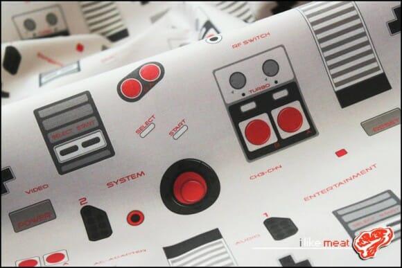 8bit Memories - Tecidos com estampas legais que remetem ao Nintendinho 8-Bits