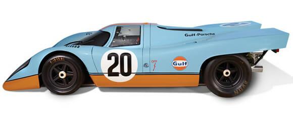 Isso é legal do dia: Uma pista de autorama feita dentro de um Porsche 917. Uau!