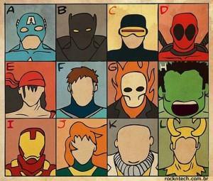 FOTOFUN - Alfabeto Marvel