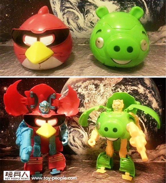 Na China já existem Angry Birds Transformers, mas talvez a Rovio ainda não saiba...