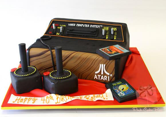 Cozinha geek: Bolo incrível do Atari