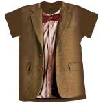 Camisetas imitam os trajes de todos os doutores de Doctor Who