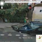 Isso é legal do dia: Cenas e cenários famosos do Cinema capturadas pelo Google Street View